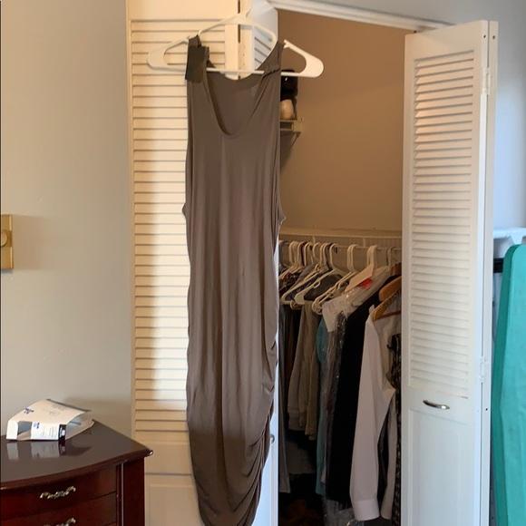 VENUS Dresses & Skirts - Venus Olive Green Tank Dress